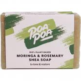 Poapoa Moringa & Rosemary Shea savon, 100 g