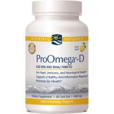 Nordic Naturals ProOméga-D (1000 mg, 60 softgels)
