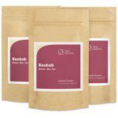 Baobab bio en poudre, 100 g, paquet de 3