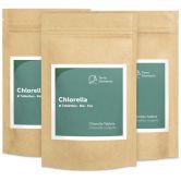 Chlorella bio comprimés (240 à 500 mg), paquet de 3