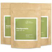 Poudre protéine de chanvre bio, 250 g, paquet de 3