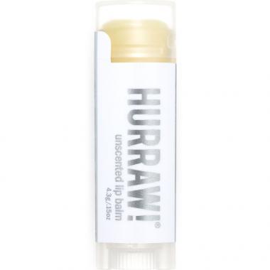 Hurraw! Baume a lèvres non parfumé, 4,3 g