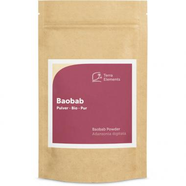 Baobab bio en poudre, 100 g