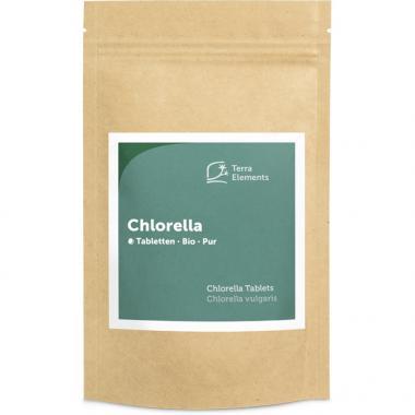 Chlorella bio comprimés (240 à 500 mg)