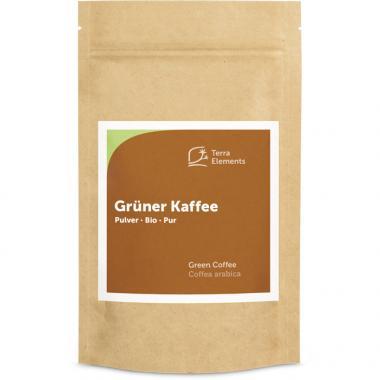 Café vert bio en poudre, 200 g