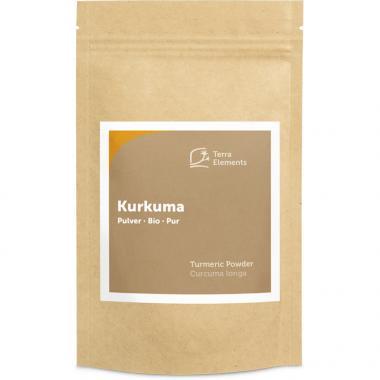 Curcuma bio en poudre, 200 g