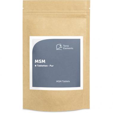 MSM comprimés (160 à 750 mg)