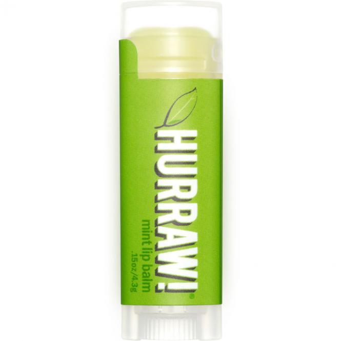 Hurraw! Baume a lèvres menthe, 4,3 g