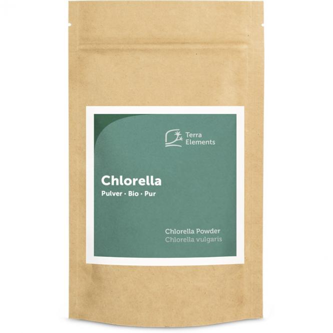 Chlorella bio en poudre, 100 g