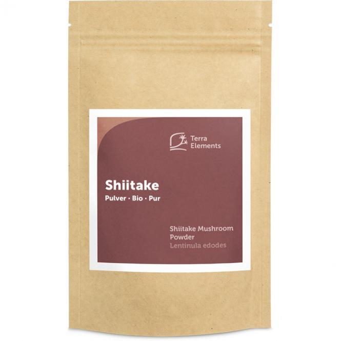Shiitaké bio en poudre, 100 g