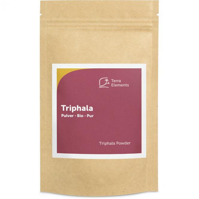 Triphala bio en poudre, 100 g