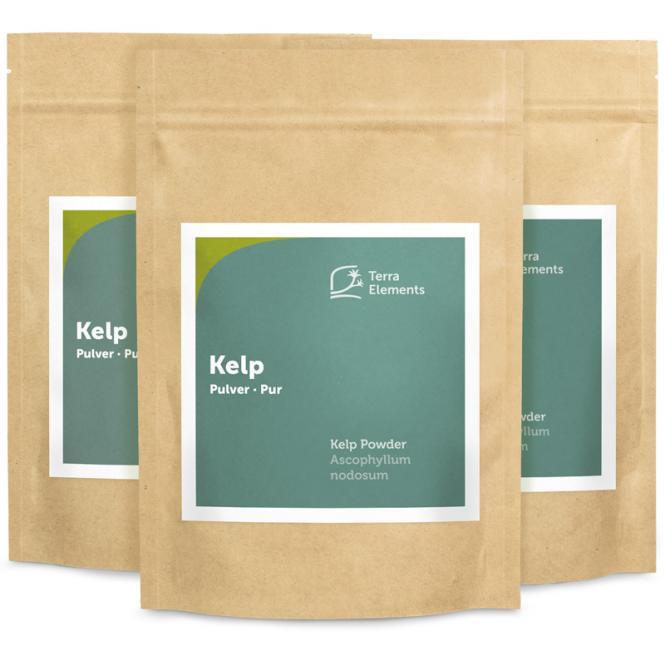 Varech (Kelp) en poudre 250 g, paquet de 3