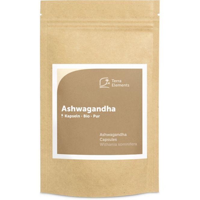 Ashwagandha bio gélules (150 à 400 mg)