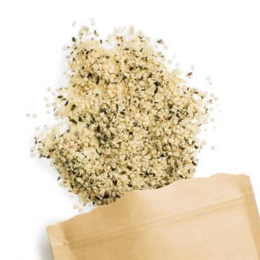 Graines de chanvre pelés bio, 250 g