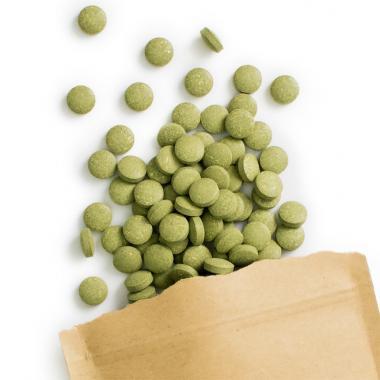 Herbe de blé bio comprimés (240 à 500 mg)
