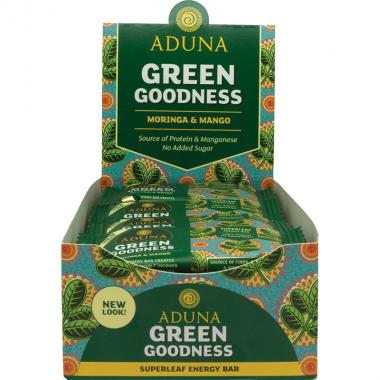 Aduna Moringa Raw Energy Bar, 45 g
