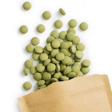Herbes d'orge bio comprimés (240 à 500 mg)