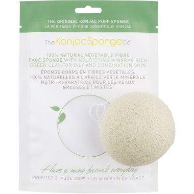 The Koniac Sponge Co. Eponge konjac argile verte