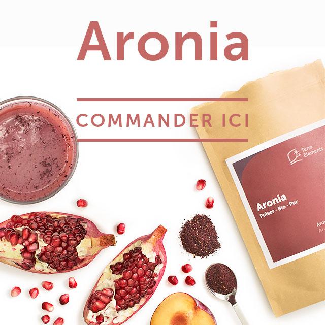 Aronia Superfood Pulver bei Terra Elements München